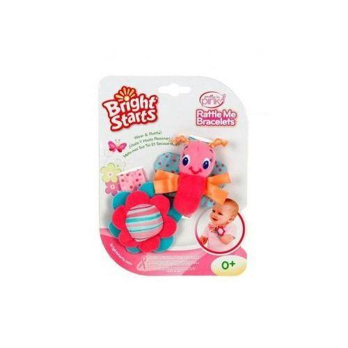 Bright Starts Grzechotki Na Rączkę Pink 8975 - produkt dostępny w AsPlaneta.pl