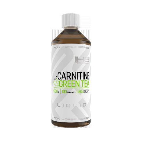 - l-carnitine + green tea liquid - 500ml wyprodukowany przez Iron horse