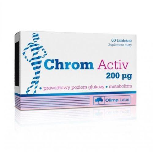 Olimp Chrom Activ 200mcg 60tabletek, postać leku: tabletki