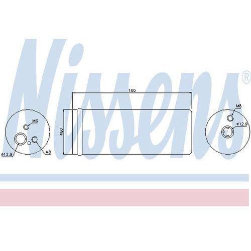 Towar z kategorii: osuszacze powietrza - Osuszacz, klimatyzacja NISSENS 95171
