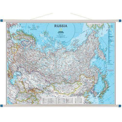 Rosja. Mapa ścienna Classic 1:12 617 000 wyd. , produkt marki National Geographic