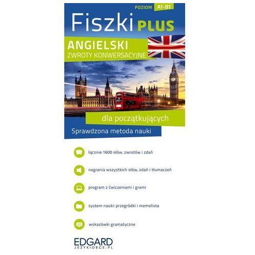 Angielski Fiszki PLUS Zwroty konwersacyjne dla początkujących - oferta [35aa497597d5c589]