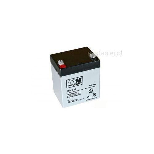 Akumulator MWPower AGM 5Ah 12V z kategorii Pozostałe ogrzewanie