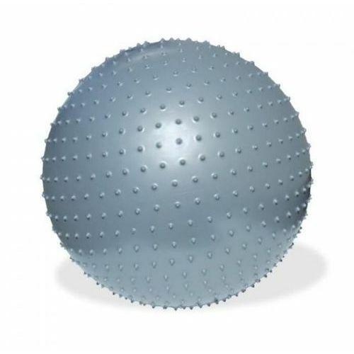 Piłka fitness 75cm do masażu z pompką, produkt marki Meteor