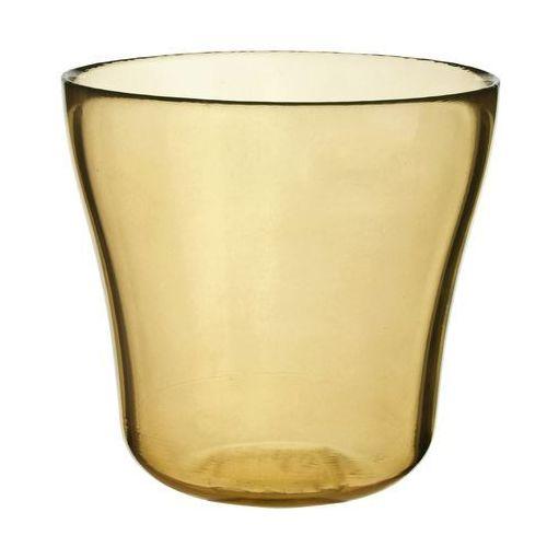 Osłonka szklana do storczyków, żółta, produkt marki Galicja
