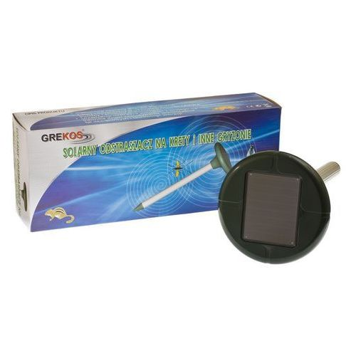 Solarny odstraszacz kretów, nornic itp. 1000 m2, produkt marki Grekos