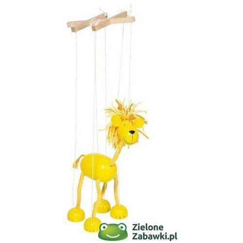 Oferta Drewniana marionetka lew, goki (pacynka, kukiełka)
