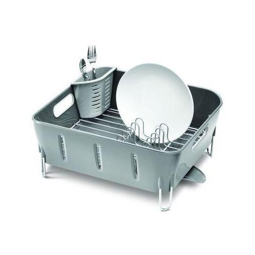 Produkt z kategorii- suszarki do naczyń - Simple Human - Ociekacz - Suszarka do Naczyń COMPACT Szary