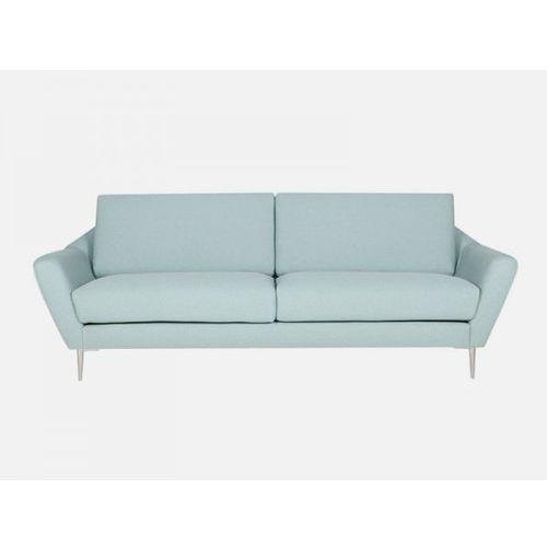 Sofa Agda turkusowa LUIS 37 turquoise nogi alu  E1843-0400-2S-LUIS37-128ALU, Sits