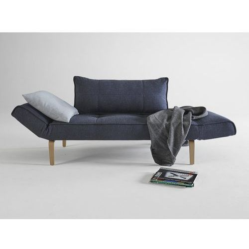 Sofa Zeal granatowa 515 nogi dąb lakierowany  740021515-2-740020-5, INNOVATION iStyle