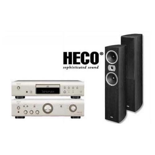 Artykuł DENON PMA-510 + DCD-510 + HECO VICTA II 501 z kategorii zestawy hi-fi