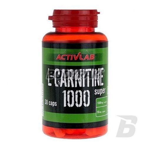 l-carnitine 1000 30 kaps wyprodukowany przez Activlab