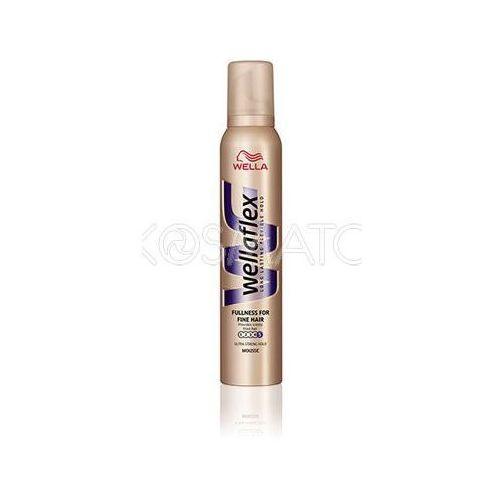 Produkt z kategorii- pozostałe kosmetyki do włosów - Wellaflex Fullness for Fine Hair (Objętość Dla Cienkich Włosów) Pianka, 200 ml
