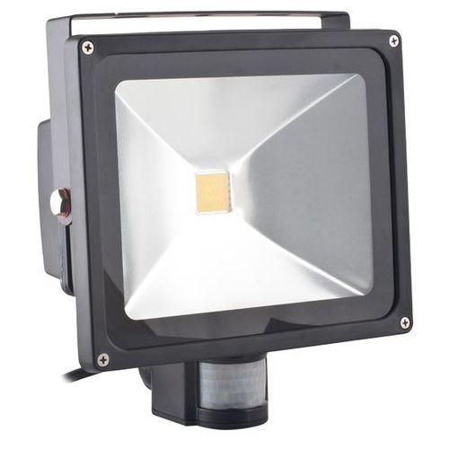 Superled Oprawa lampa naświetlacz halogen Led 30W barwa zimna z czujnikiem ruchu PIR z kategorii oświetlenie
