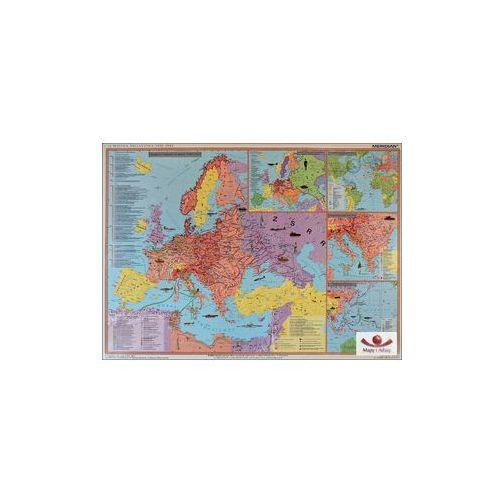 Produkt II Wojna Światowa 1939-41/1942-45. Mapa ścienna., marki Meridian