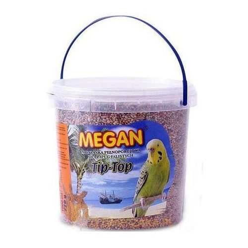 Megan Pokarm dla papug falistych Tip-Top 1L [ME9], megan