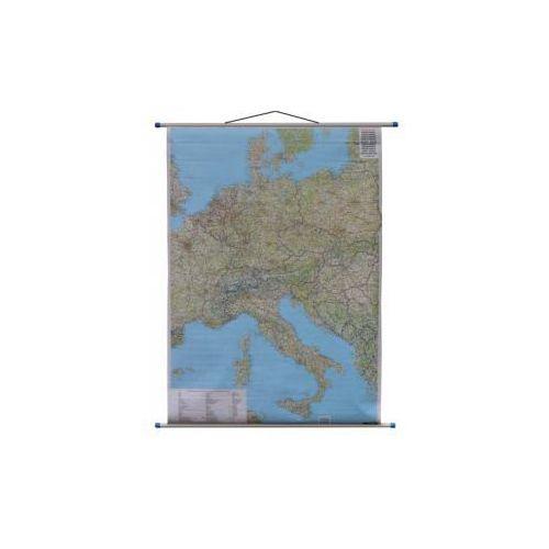 Europa Środkowa mapa ścienna samochodowa 1:2 000 000  Berndt, produkt marki Freytag