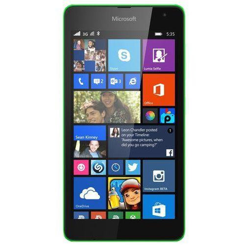 Microsoft Lumia 535 Dual SIM (zielony) - zielony - produkt z kategorii- Pozostałe oprogramowanie