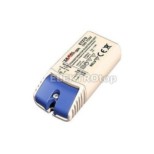 Transformator elektroniczny 230/11,5V 0-70W TYP: ETZ70 z kategorii Transformatory