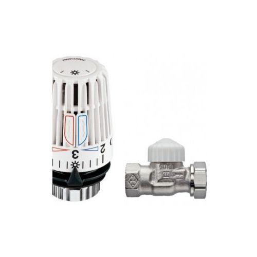 Pakiet 10x zestaw termostatyczny prosty (głowica k+ zawór v-exact ii)