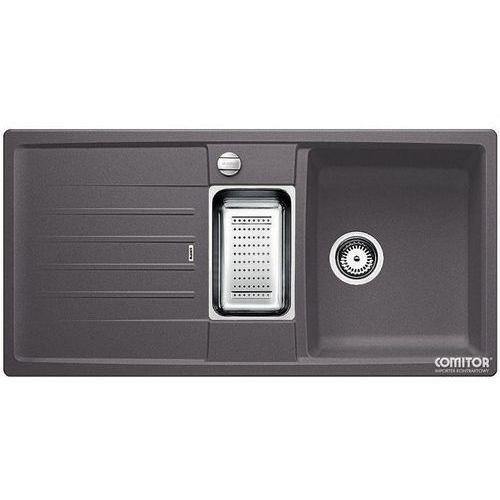Zlew BLANCO LEXA 6S SZAROŚĆ SKAŁY (korek automatyczny, odsączarka stalowa) 518860 //zamów wycięcie otwor