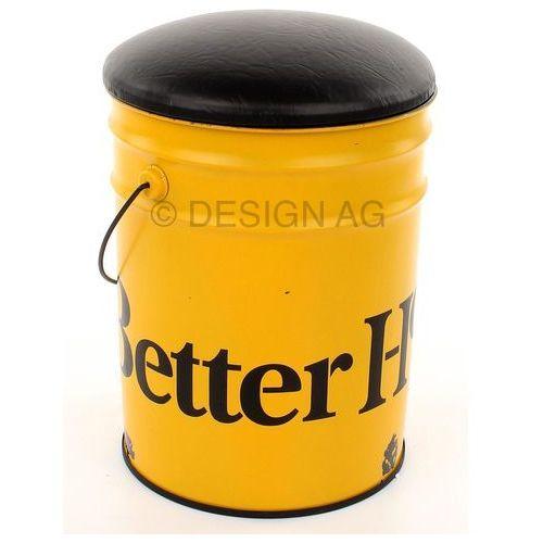 Kare Design Bucket Stołek Żółty (76886), produkt marki Kare Design