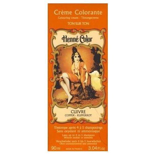 Cosmetics Natural Colour Cream - Henna w płynie Cuivre/Miedź 90ml - szczegóły w Pachnidełko