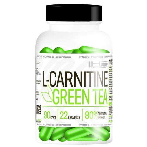 l-carnitine + green tea - 90 kaps. wyprodukowany przez Iron horse