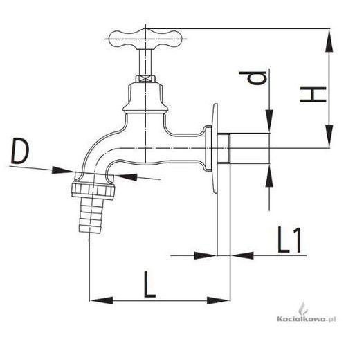 Zawór wodny, wypływowy [113-312-07]