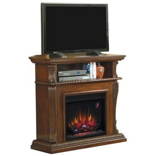 82839536 Kominek elektryczny z szafką RTV Classic Flame Corinth (kolor: orzech) - oferta [45a3e70c512213e7]