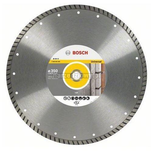 BOSCH Diamentowa tarcza tnąca uniwersalna do pił stołowych Expert for Universal Turbo, Średnica (mm): 350 TRANSPORT GRATIS ! ze sklepu narzedziowy.pl