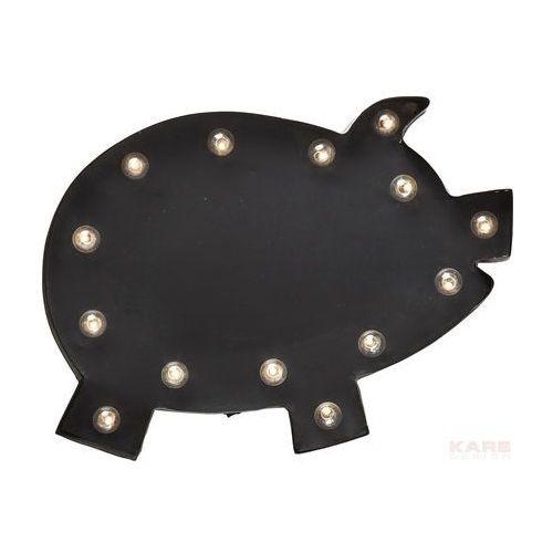 Piggy LED Lampa Ścienna Lakierowany Metal MDF - 37265, produkt marki Kare Design