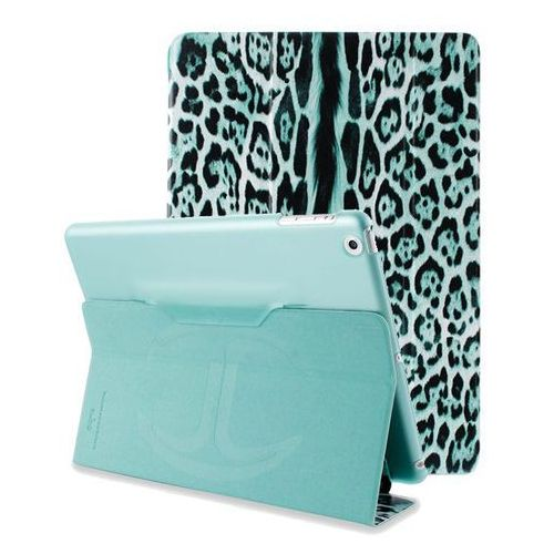 Produkt JUST CAVALLI Leopard - Etui iPad Air (morski)