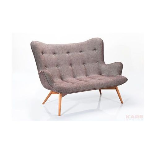 Kare design :: Sofa Angels Wings Rhythm Brown 2-Osobowa - brązowy, Kare Design
