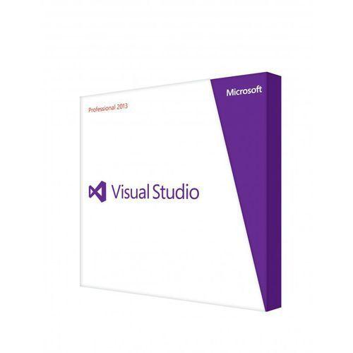 Artykuł Visual Studio Professional 2013 Single Open 1 License Level C z kategorii programy biurowe i narzędziowe