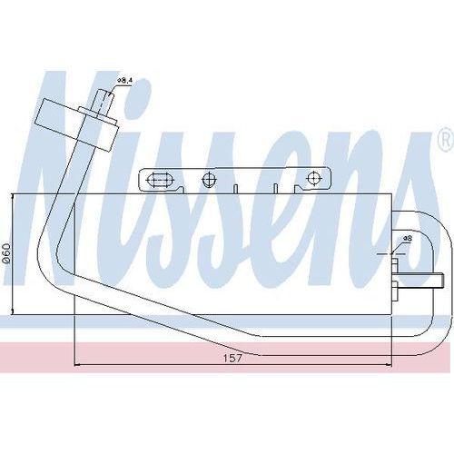 Towar z kategorii: osuszacze powietrza - Osuszacz, klimatyzacja NISSENS 95338