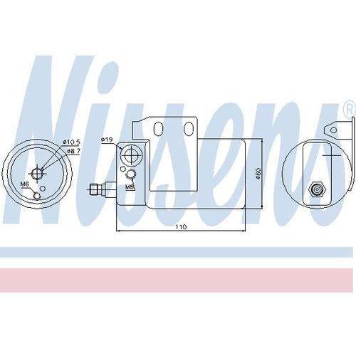 Towar z kategorii: osuszacze powietrza - Osuszacz, klimatyzacja NISSENS 95185