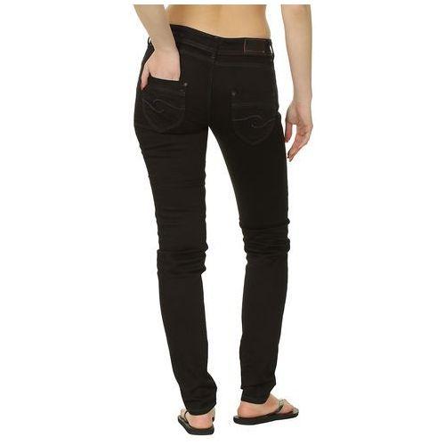 Produkt z kategorii- spodnie męskie - jeansy Quiksilver Skinny Shadow - Navy Shadow
