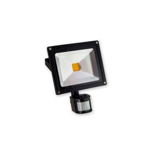 LEDtechnics NAŚWIETLACZ 20W COB EPISTAR +PIR ZIMNA | 220-240V AC | 20 W | biały zimny (5500K) | 8104CW z kategorii oświetlenie