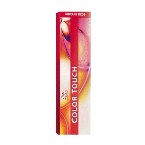 Wella COLOR TOUCH VIBRANT REDS 55/56 - intensywny jasny brąz fioletowo-mahoniowy - szczegóły w MadRic.pl