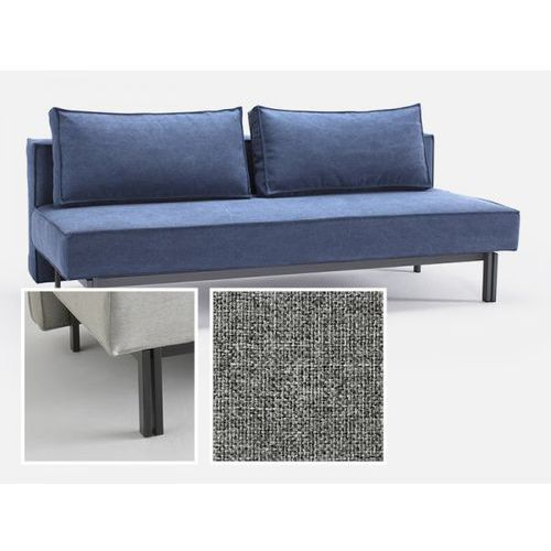 Sofa Sly szara 565 nogi czarny mat  543071CN527565-02-543070-2, INNOVATION iStyle