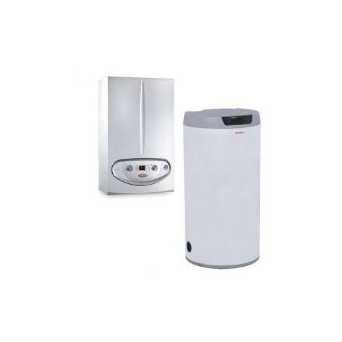 Kocioł kondensacyjny gazowy wiszący victrix 24 eco plus 100; zestaw z zasobnikiem, towar z kategorii: Kotły gazowe