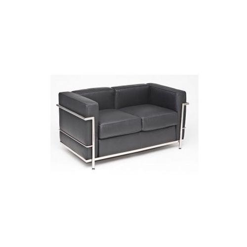 Sofa dwuosobowa Kubik inspirowana LC2, D2