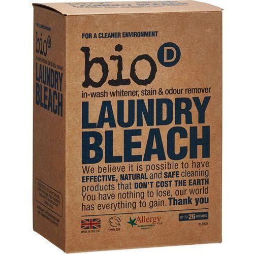 BIO-D Laundry Bleach antybakteryjny wybielacz i odplamiacz do prania 400 g (wybielacz i odplamiacz do ubrań)