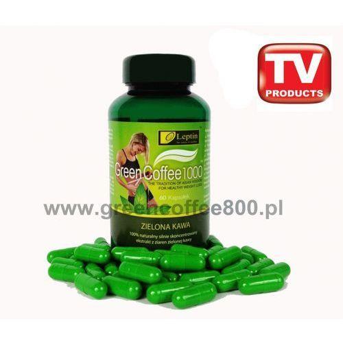 Tabletki Zielona kawa slim Green Coffee 1000 na odchudzanie 60 kapsułek
