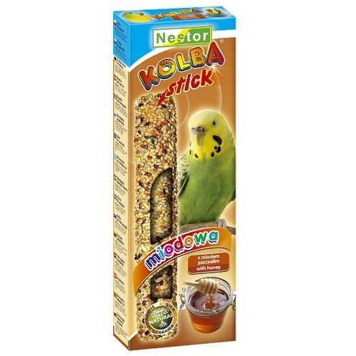 NESTOR 2szt/op kolba miodowa dla papużki falistej, Nestor