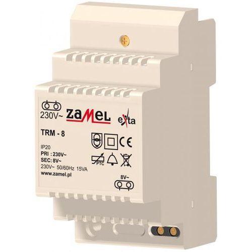 TRANSFORMATOR 230/8V AC 15VA ZAMEL (TRM-8) z kategorii Transformatory