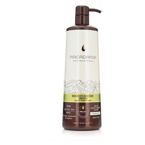 Macadamia Weightless Moisture - nawilżająca odżywka do włosów cienkich 1000ml - produkt z kategorii- odżywki do włosów