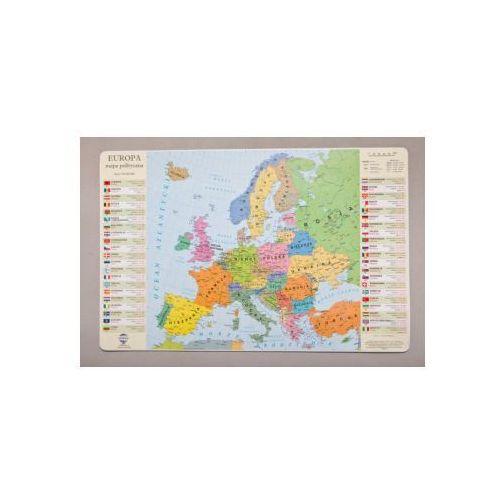 Podklad na biurko: mapa polityczna Europy od Księgarnia Emulus.pl