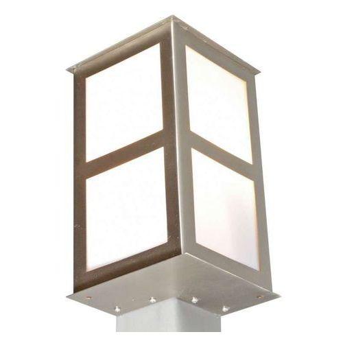 Lampa zewnętrzna Corner stal montaż narożny sprawdź szczegóły w lampyiswiatlo.pl